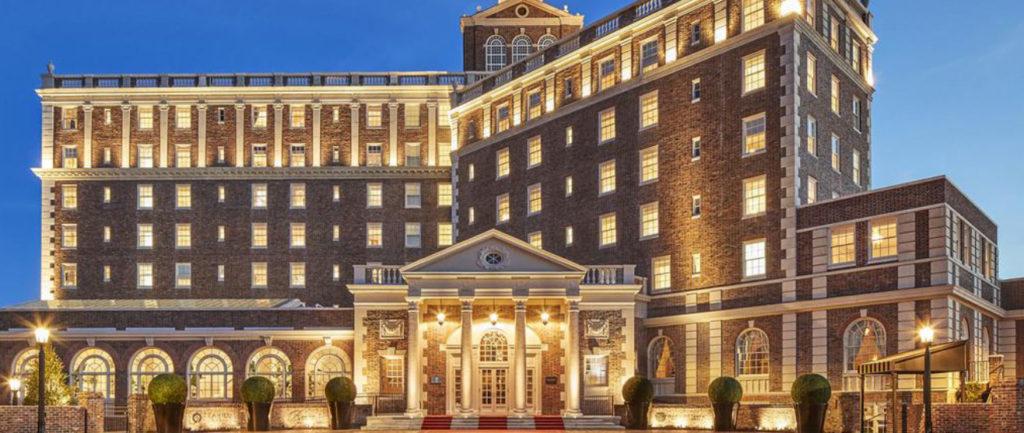the cavalier hotel exterior