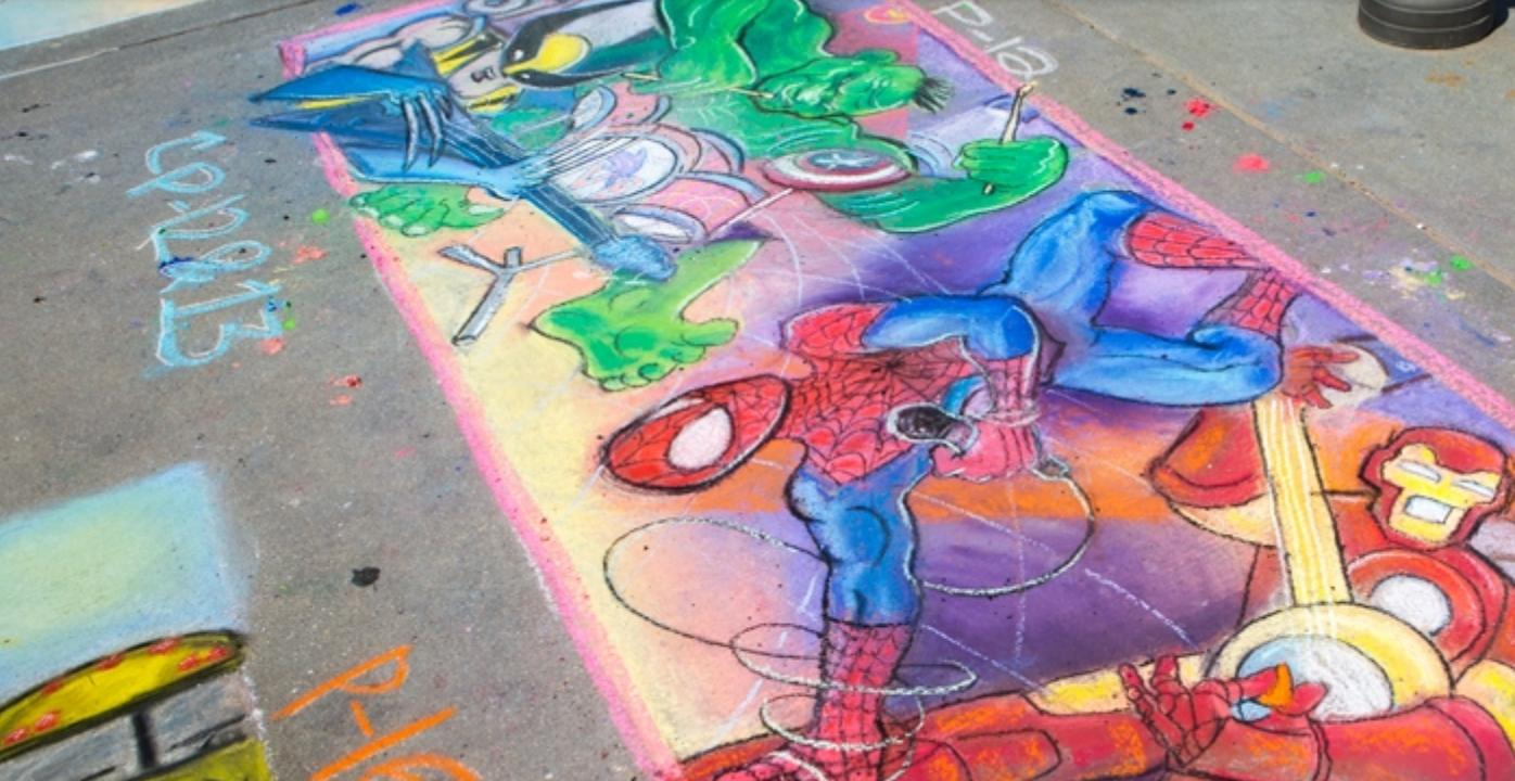Chalk the Walk ARTsplosion