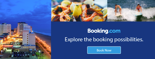 Booking .com explore the booking possibilities