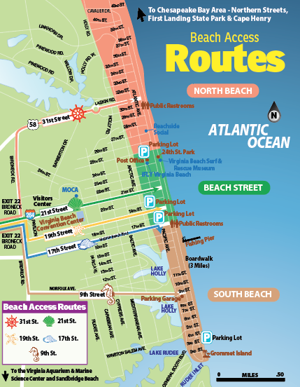 virginia beach access routes