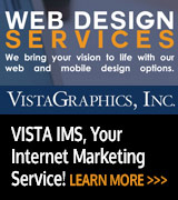 VistaGraphics Web Design Services Vista IMS