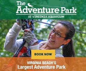 the adventure park at Virginia aquarium